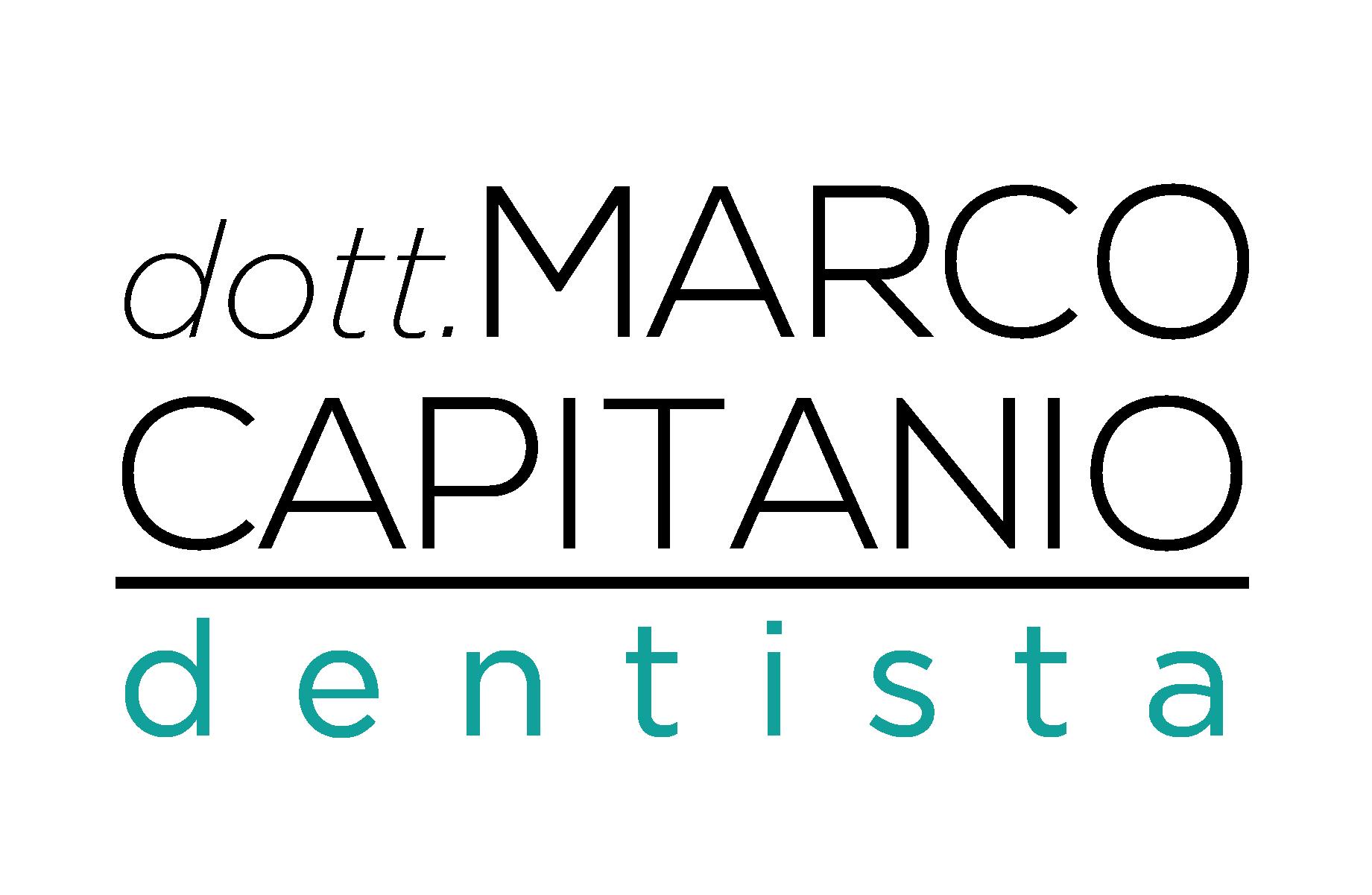 Marco Capitanio – Dentista Logo